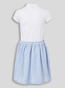 Blue School Gingham Dress (3 - 12 years)