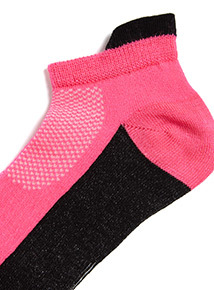 5 Pack Multicoloured Active Trainer Socks (3 infant-5.5 adult)