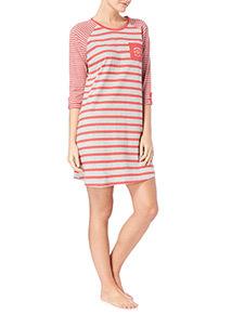 Stripe Patterned Nightdress