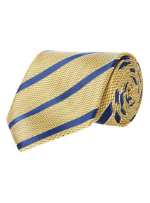 Yellow Club Stripe Tie