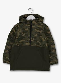 cfa34bbac2a0 Khaki Camo Pullover Jacket (3-14 years)