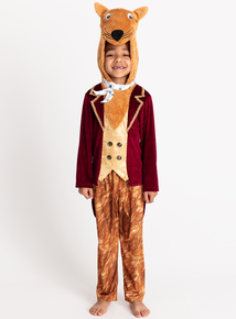 Beautiful Fantastic Mr Fox Orange 2 Piece Costume (3 10 Years)