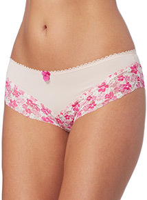 Floral Lace Brazilian Briefs 3 Pack