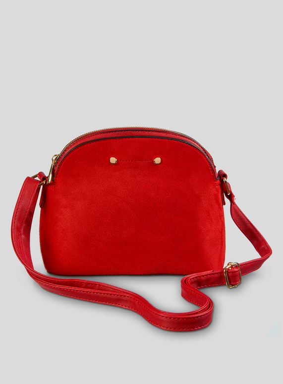 1f63e380d6 Womens Red Cross Body Kettle Bag