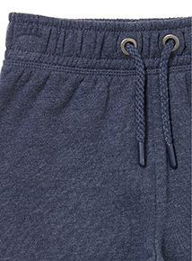 Navy Slim Leg Joggers (3-14 Years)