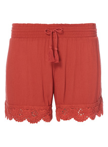 Crinkle Sleep Shorts