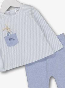 Peter Rabbit Blue 2 Piece Pyjama Set (Newborn -24 Months) 616ba333cf4a