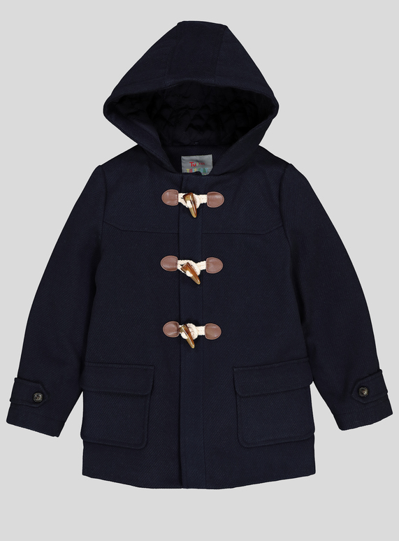 b3d69fc94379 Kids Navy Duffle Coat (9 months - 6 years)