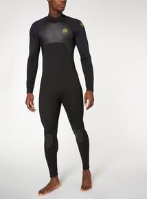 Black Full Wetsuit