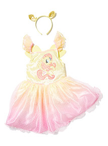 Pink and Yellow Fluttershy My Little Pony Costume (2-10 years)