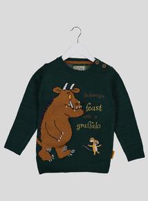 The Gruffalo Green Knit Jumper (9 months - 6 years)