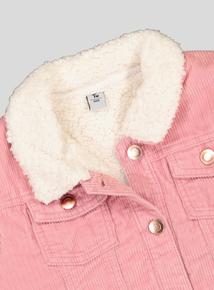 Pink Corduroy Jacket (7-14 years)