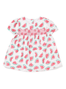 Multicoloured Watermelon Woven Top (0-24 months)