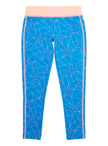 Girls Blue Active Legging (5-14 years)