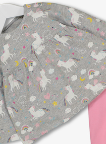 Multicoloured Unicorn Top & Legging Set (0 - 24 Months)