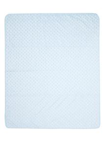 Boys Blue Velboa Blanket (0-24 months)