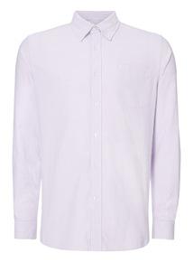 Lilac Stripe Oxford Shirt