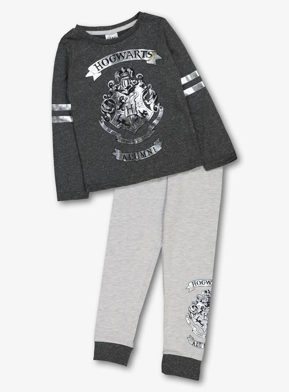 mujer apariencia elegante mayor selección de 2019 Harry Potter Grey Hogwarts Crest Pyjamas (3-12 Years)