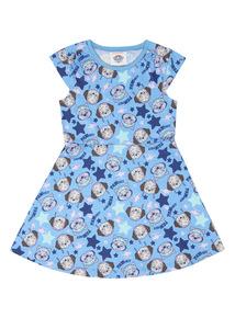 Blue Paw Patrol Dress (1 - 6 years)