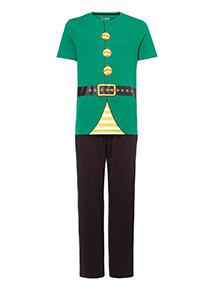 Green Elf Outfit Pyjama Set