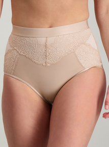 212b9b62c2 Online Exclusive Secret Shaping Nude Luxury Lace Knickers