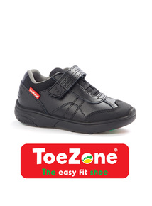 Black ToeZone Shoes