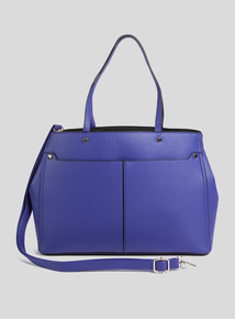 Cobalt Blue Shoulder Bag