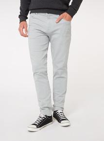 Light Blue Denim Slim Fit Jeans