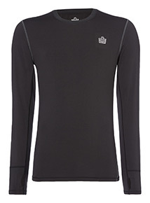 Admiral Black Base Layer Tee