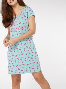 Watermelon Print Nightdress