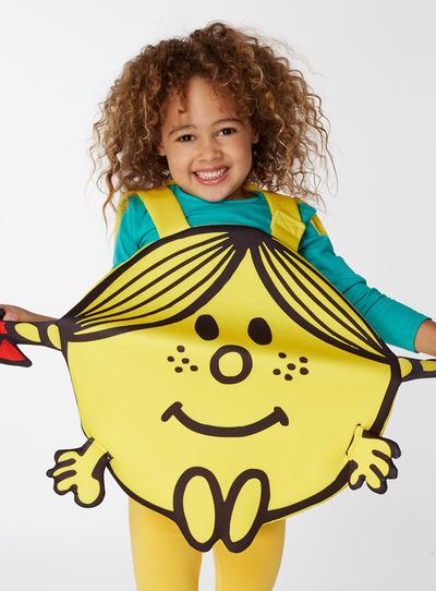 Yellow Little Miss Sunshine Costume (3-8 years)