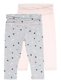 Mix and Match Geo Crop Trousers 2 Pack (3 - 13 years)
