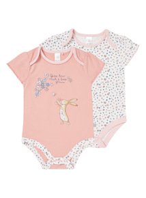 Guess How Much I Love You Bodysuits 2 Pack (0 - 24 months)