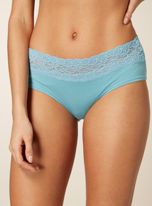 5 Pack Multicoloured Comfort Lace Shorts