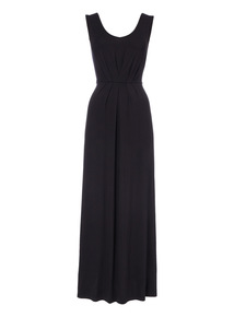Gather Front Maxi Dress