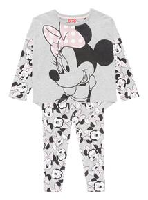 Grey Disney Minnie Pyjamas