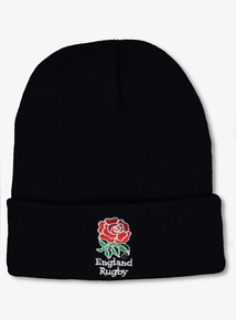 England Rugby Navy Blue Beanie Hat