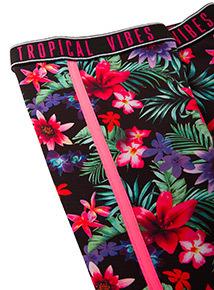 Multicoloured Floral Dance Leggings (3-14 years)