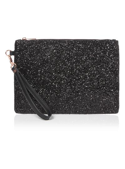 Womens Glitter Clutch Bag   Tu clothing 4272d8bbb9