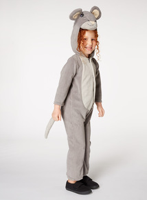 Grey Christmas Mouse Costume (3-10 years)