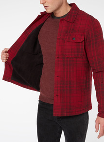 Red Buffalo Borg Lined Overshirt