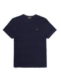 Admiral Navy Textured Stripe T-shirt