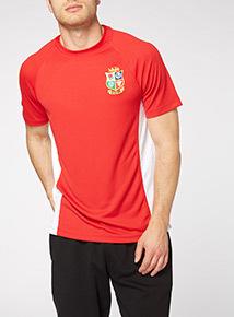 Online Exclusive Red British & Irish Lions T-shirt
