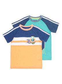 Boys Suns Out Tees 2 Pack (9 months - 6 years)