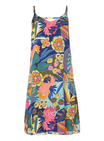 Multicoloured Camisole Dress