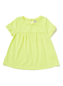 Yellow Embroidered T-Shirt (9 months-6 years)