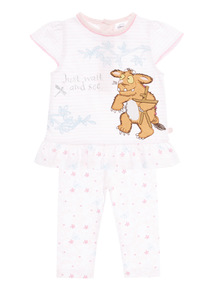 Pink Gruffalo's Child Top And Leggings Set (0-24 months)