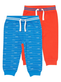 Boys Blue Submarine Patterned Joggers (0-24 months)