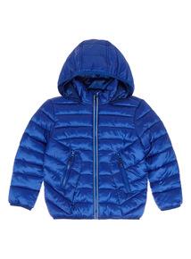 Blue Cobalt Puffa Jacket (9 months - 6 years)