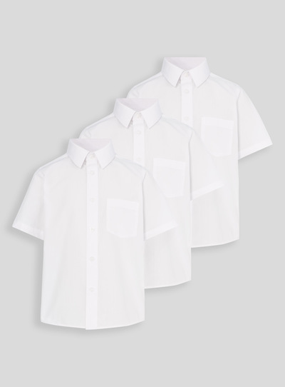 Unisex Teen Short Sleeve Shirt 3 Pack (17-18 years)